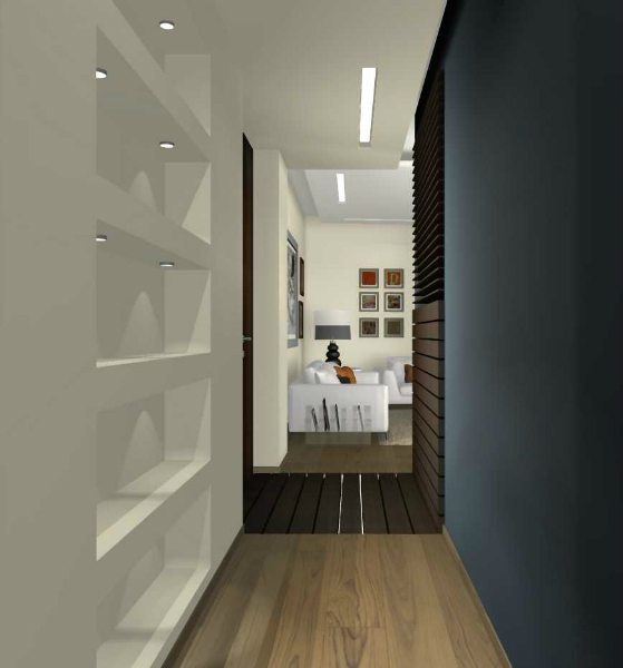 Appartamento con open space architetto facile - Mobili da corridoio ...