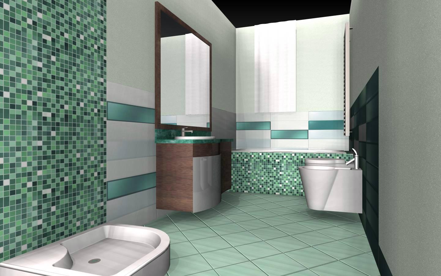 Bagni e soggiorno con boiserie in legno architetto facile - Bagno con boiserie ...