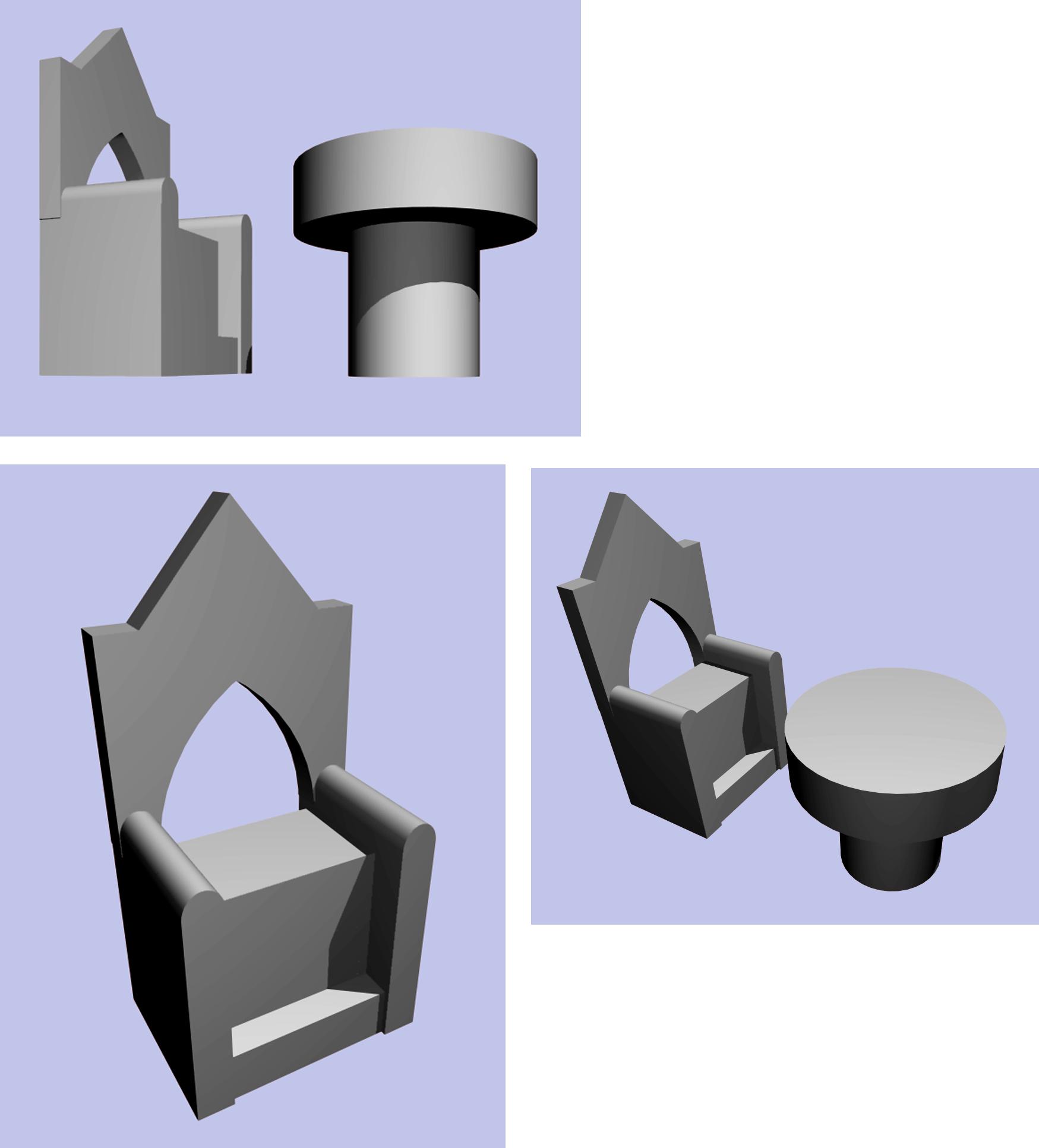altare e sedile