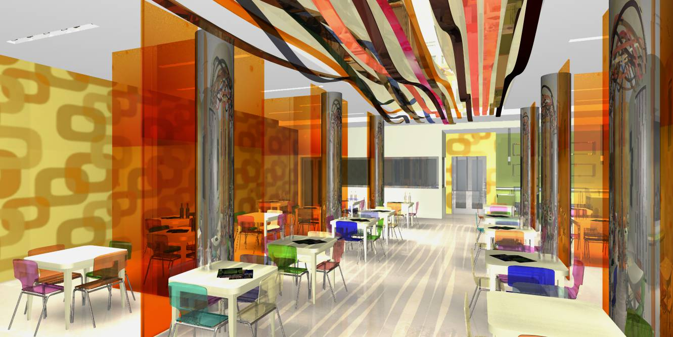 Hotel e ristorante architetto facile for Hotel design grenoble
