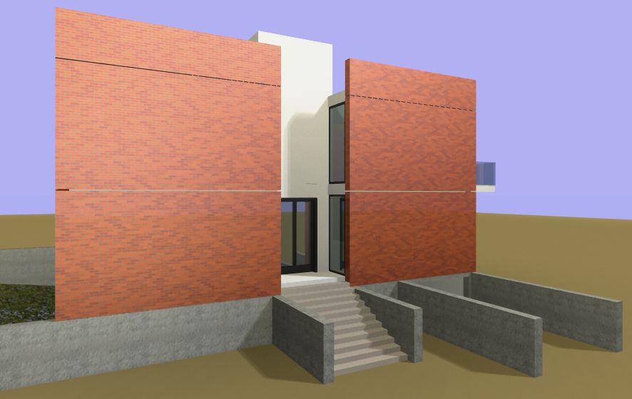 facciata principale - accesso