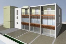 facciata posteriore - accesso laboratori