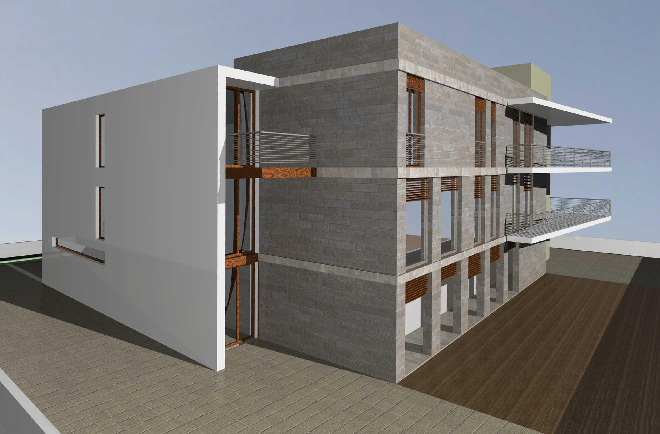 Progetto per una falegnameria architetto facile - Aprire finestra muro esterno ...