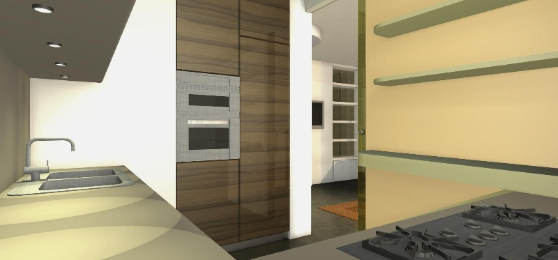una parete vetrata per il soggiorno | architetto facile - Vetrata Soggiorno Cucina