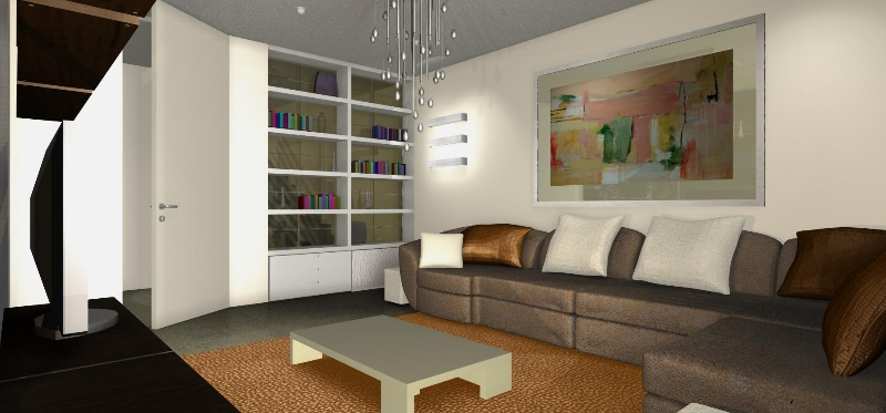 Una parete vetrata per il soggiorno  Architetto Facile