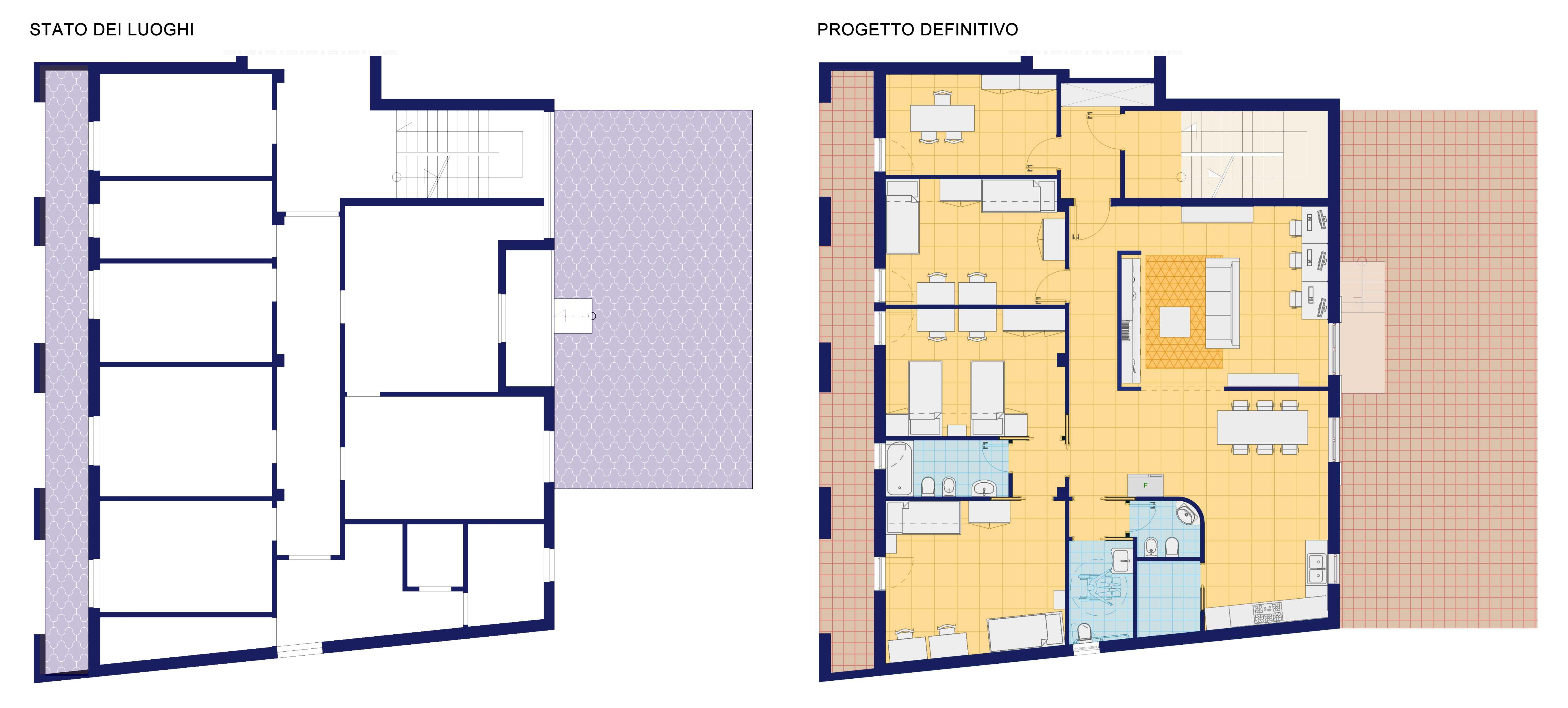 Una casa famiglia per minori a bitonto architetto facile for Una storia passiva piani di casa solare