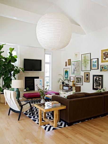 Casa in stile eclettico mobili diversi per colore e stili for Stili mobili