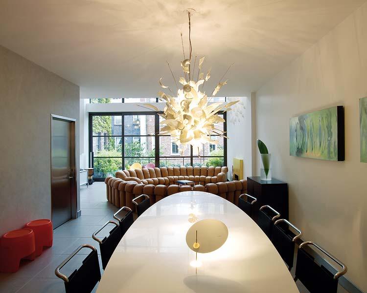 Appartamento a manhattan un interno di lusso da sognare - Zona pranzo design ...