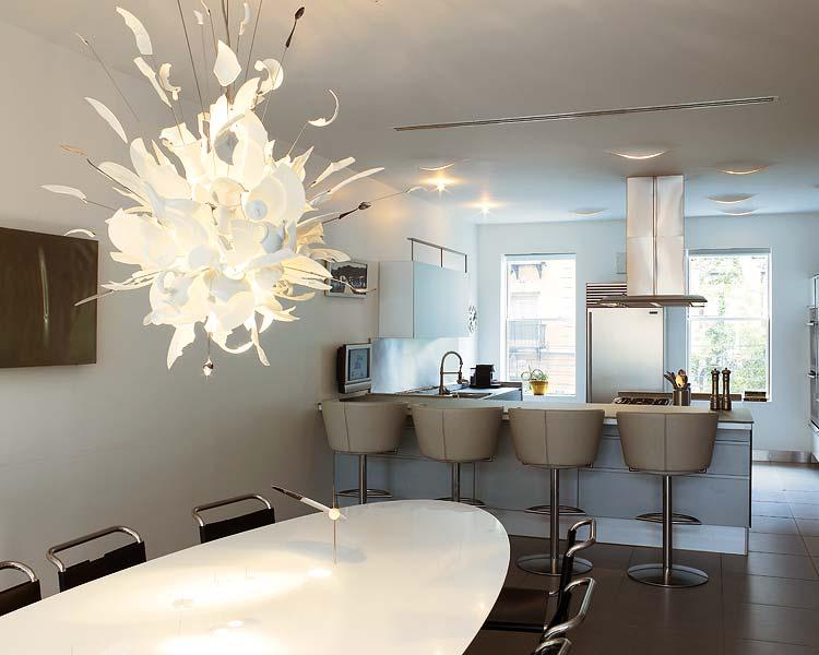 Appartamento a manhattan un interno di lusso da sognare for Angolo bar per casa