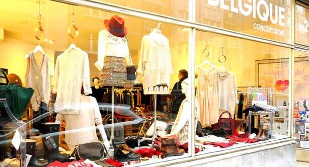 Boutique Belgique. Un concept store d'abbigliamento eclettico e originale