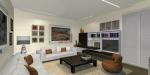 soggiorno, parete TV