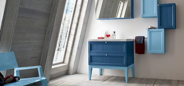Bagno: mobili, colori e luce
